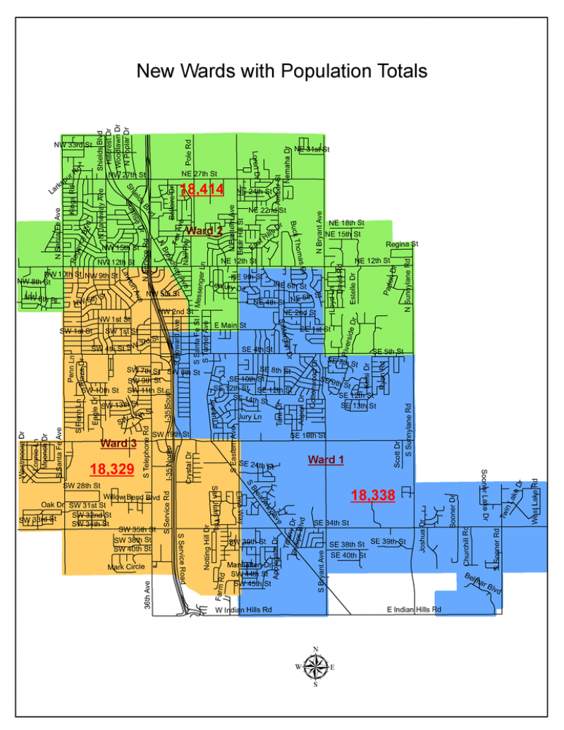 Map Of Norman Ok Municipal Maps | Cleveland County Election Board Map Of Norman Ok